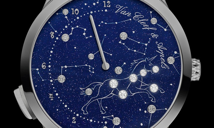 Van Cleef & Arpels Midnight Nuit Lumineuse watch dial
