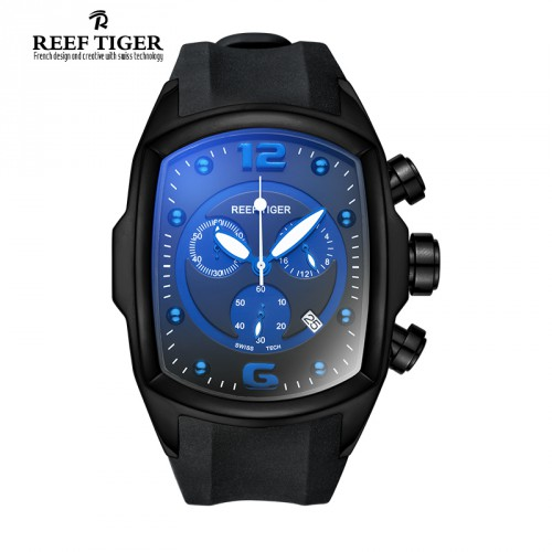 Reef-Tiger-RT-Chronograph-Sport-Watches-for-Men-Big-Dial-Date-Barrel-Shape-Watch-Rubber-Strap