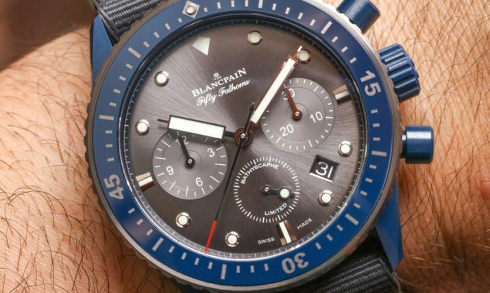Blancpain-Fifty-Fathoms-Bathyscaphe-Flyback-Chronograph-Ocean-Commitment-II-aBlogtoWatch-19