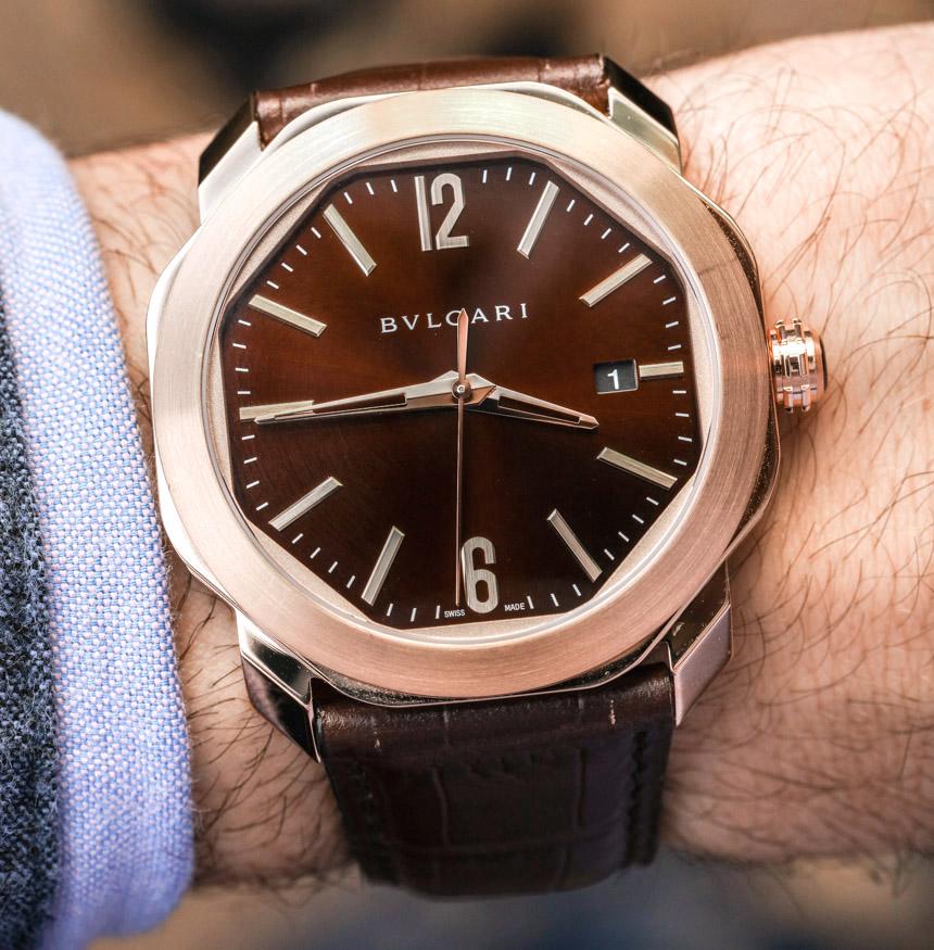 new bulgari octo roma watch in handson