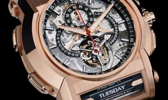 Maitres du Temps Chapter One Round Transparence Watch Watch Releases