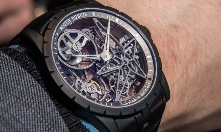 Roger Dubuis Excalibur 42 Automatic Skeleton Watch Hands-On Hands-On