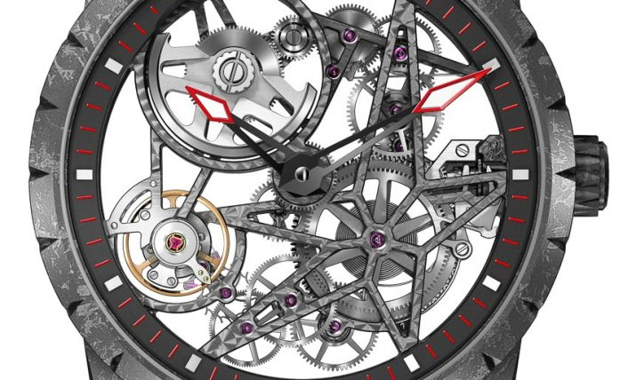 Roger Dubuis Excalibur Automatic Skeleton Carbon Watch Watch Releases