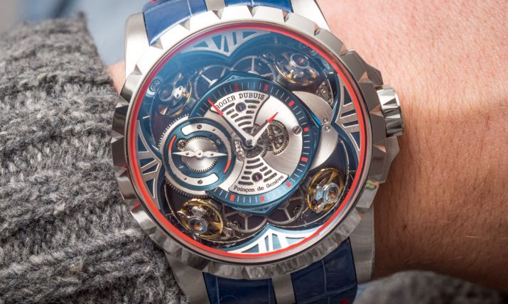 Roger Dubuis Excalibur Quatuor Cobalt MicroMelt Watch Hands-On Hands-On
