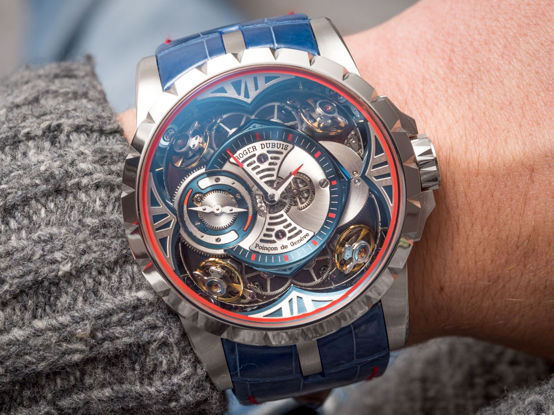 Roger Dubuis Excalibur Quatuor Cobalt MicroMelt Watch Hands-On Hands-On