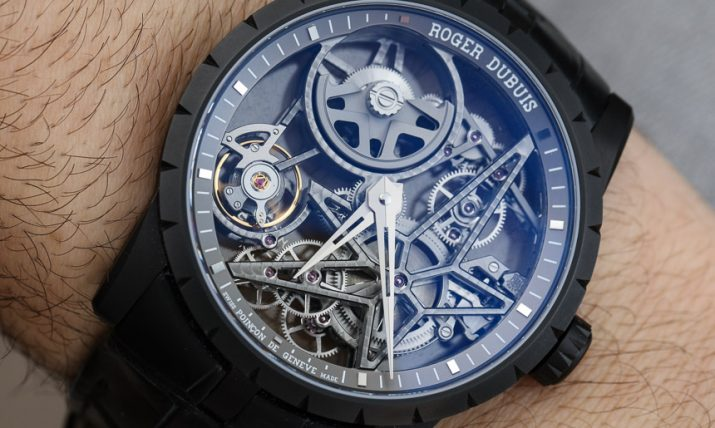 Roger Dubuis Excalibur 42 Automatic Skeleton Watch Review Wrist Time Reviews
