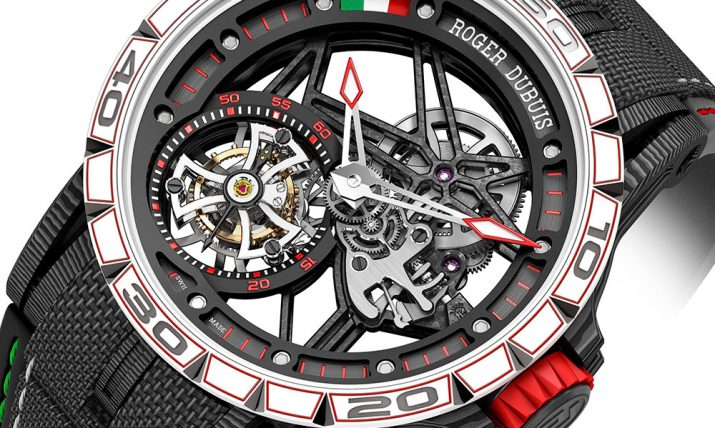 Roger Dubuis Excalibur Spider Italdesign Edition Watch Watch Releases