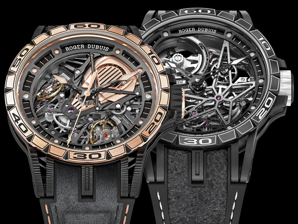 Roger Dubuis Excalibur Spider Pirelli & Excalibur Aventador S Watches For 2018 Watch Releases
