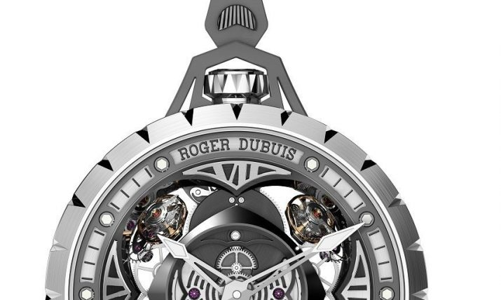 Roger Dubuis Excalibur Spider Pocket Watch Time Instrument Watch Releases