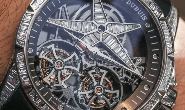 Roger Dubuis Excalibur Star Of Infinity Double Tourbillon Watch Hands-On Hands-On