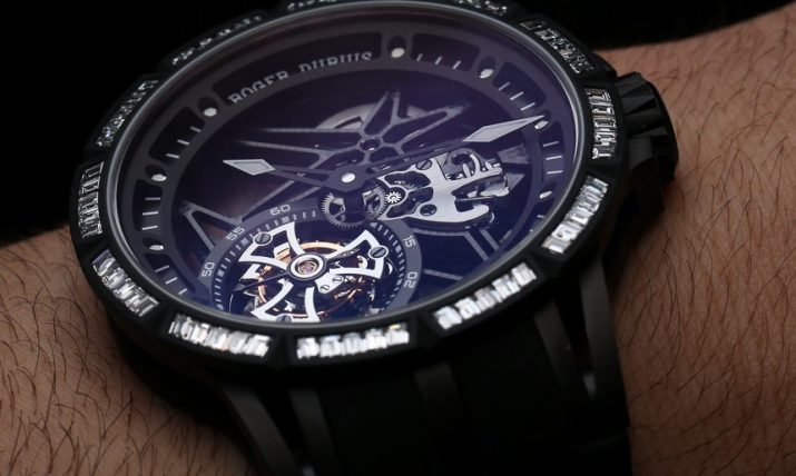 Roger Dubuis Excalibur Single & Double Tourbillon Watches Hands-On Hands-On