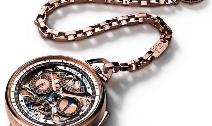 Roger Dubuis Hommage Millesime Unique Pocket Watch Watch Releases
