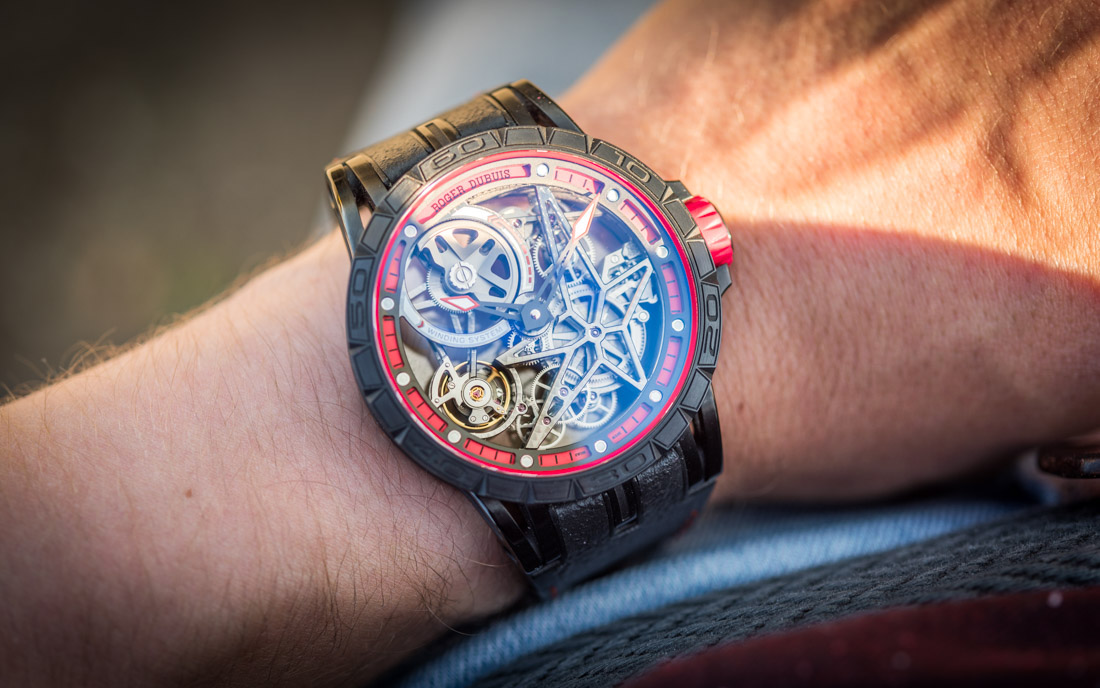 Roger Dubuis Excalibur Spider Pirelli Automatic Skeleton Watch Hands-On Hands-On