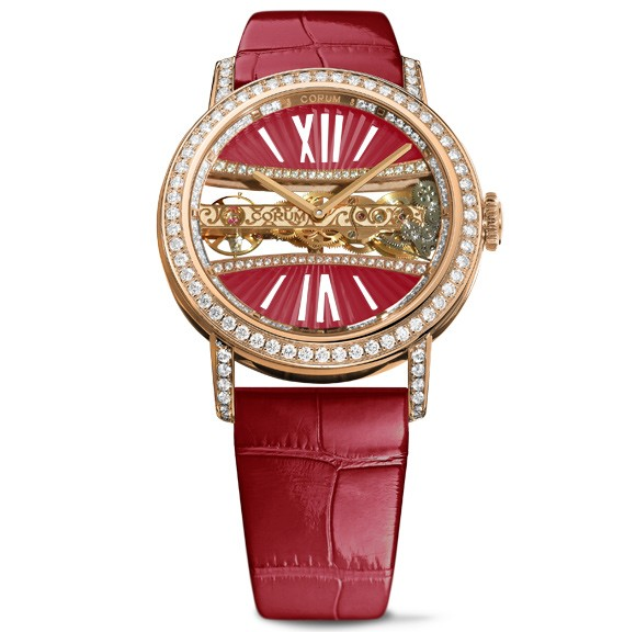 Corum-Lady-Golden-Bridge-Round-39-mm-rouge