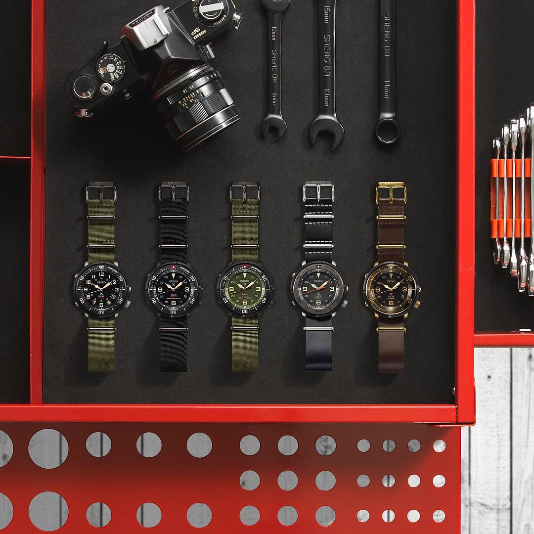 Seiko Prospex Fieldmaster Lowercase Watches Watch Releases