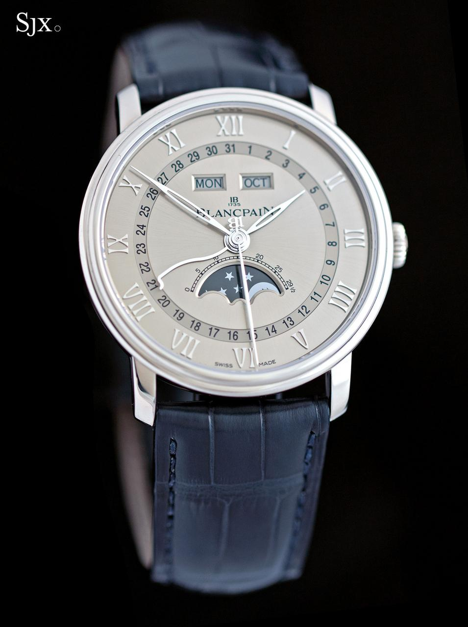 Blancpain Complete Calendar white gold 4