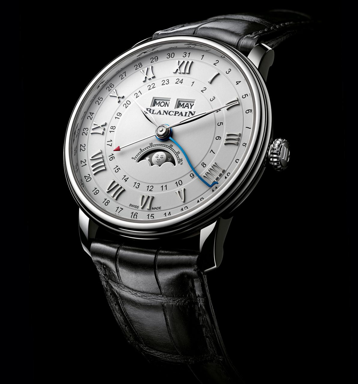 Blancpain Villeret Complete Calendar GMT 4