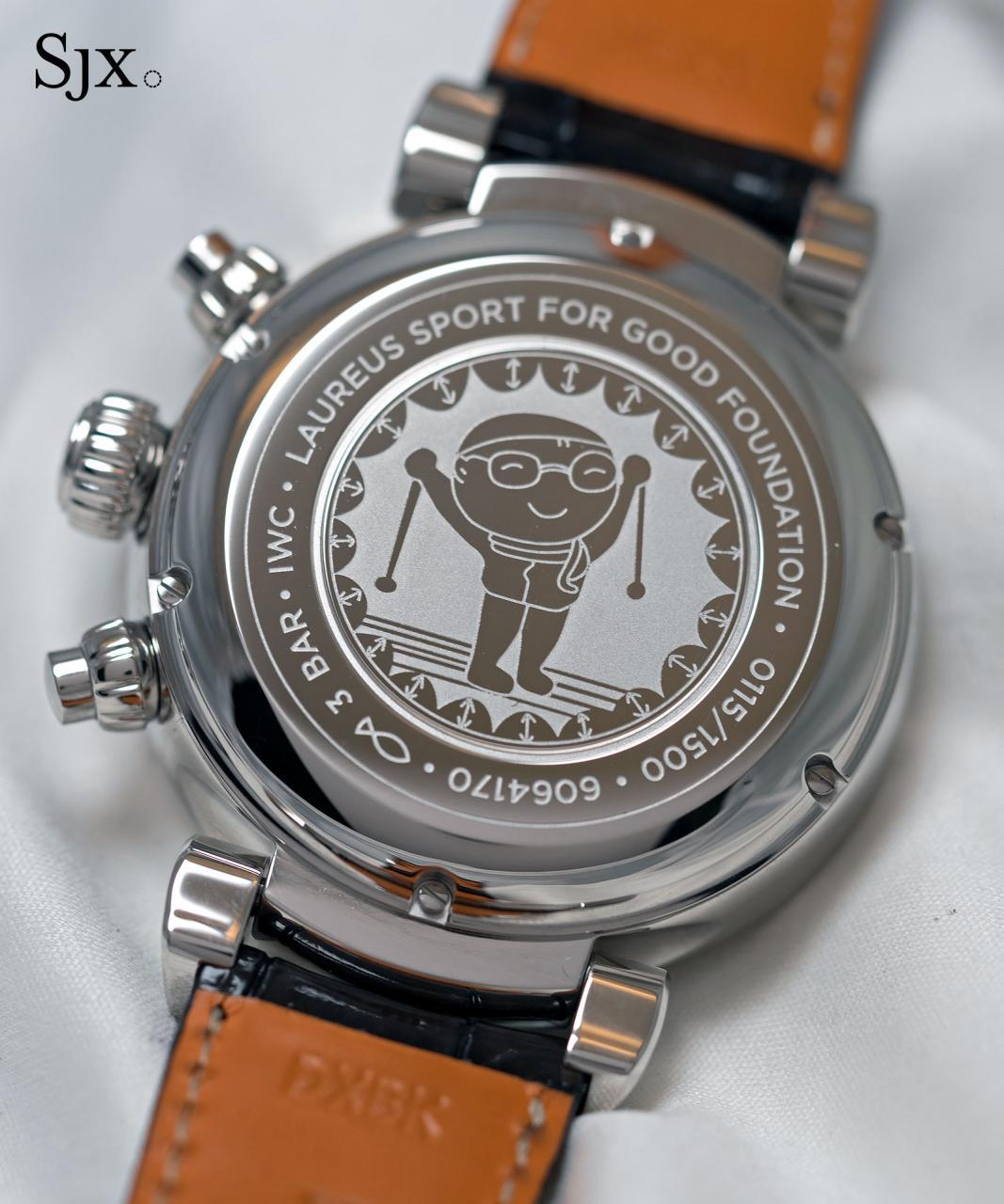 IWC Da Vinci Laureus Chronograph 2
