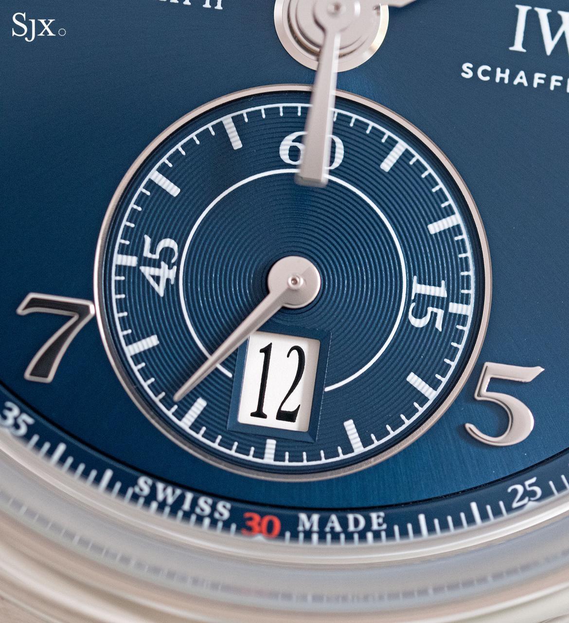 IWC Da Vinci Laureus Chronograph 6