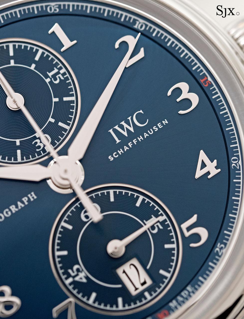 IWC Da Vinci Laureus Chronograph 8