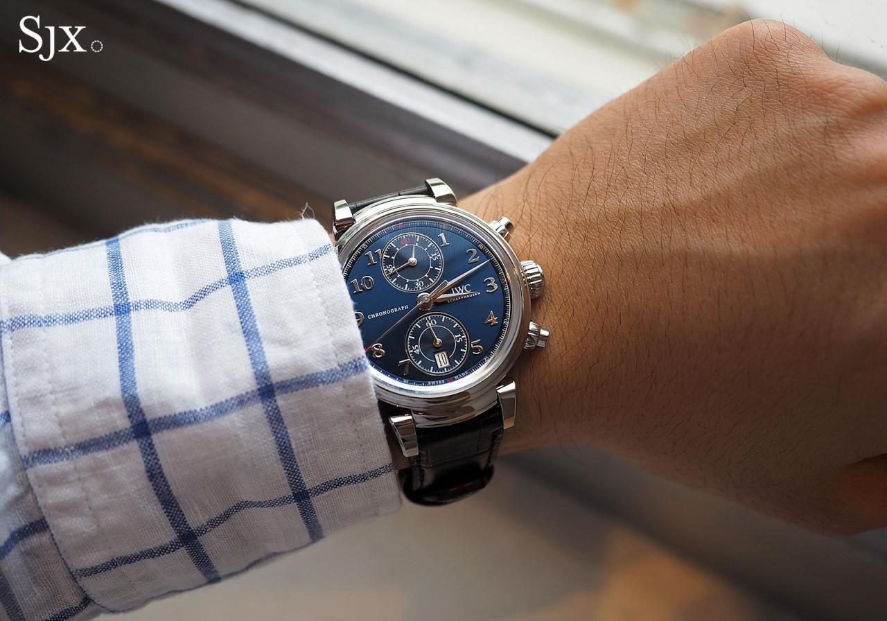 IWC Da Vinci Laureus wrist shot