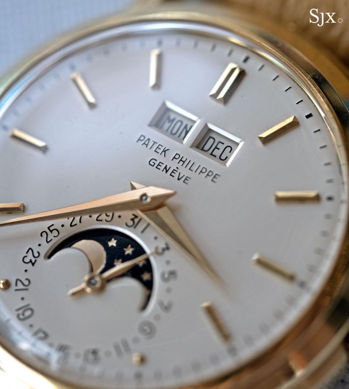 Patek Philippe 3449 perpetual calendar 8