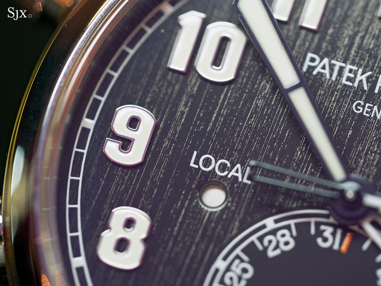 Patek Philippe Calatrava Pilot Travel Time Titanium 5524T-3