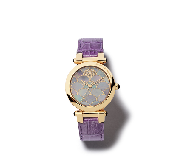 Ferragamo Quartz watches With Purle Strap
