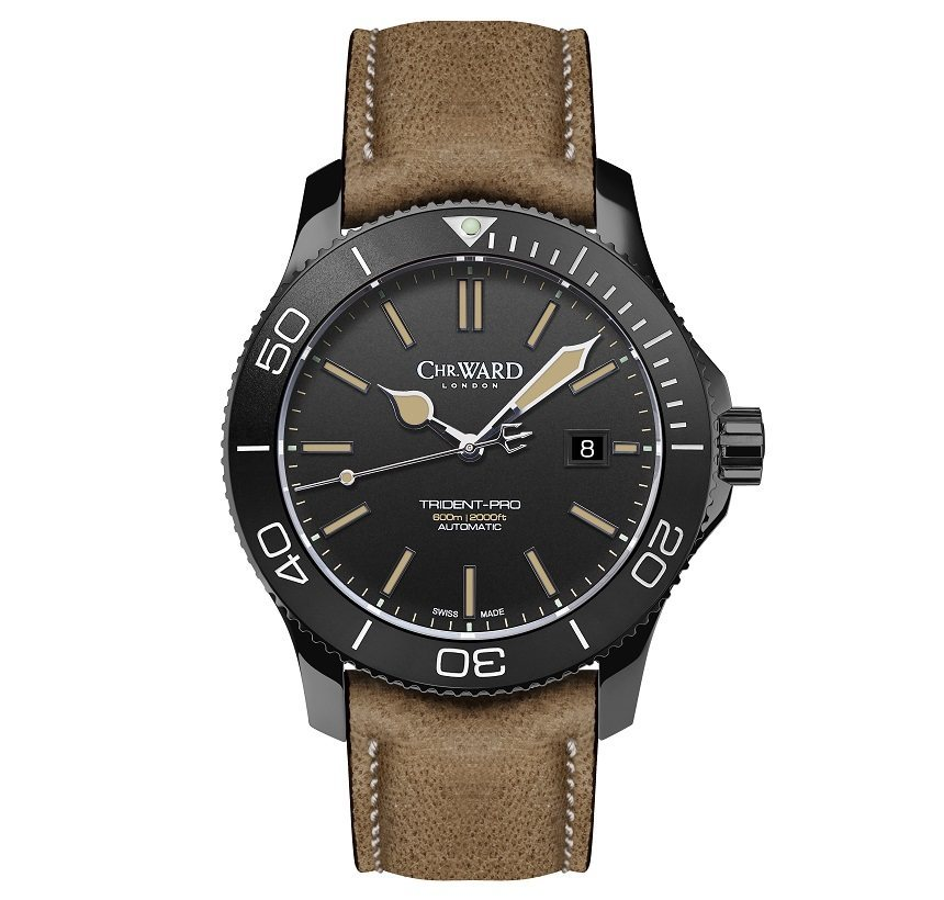 Stylish And Affordable Watch For Men-Christopher Ward C60 Trident 600 Vintage