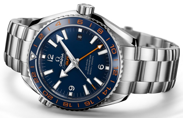 Omega Seamaster Planet Ocean GMT Dive Watch