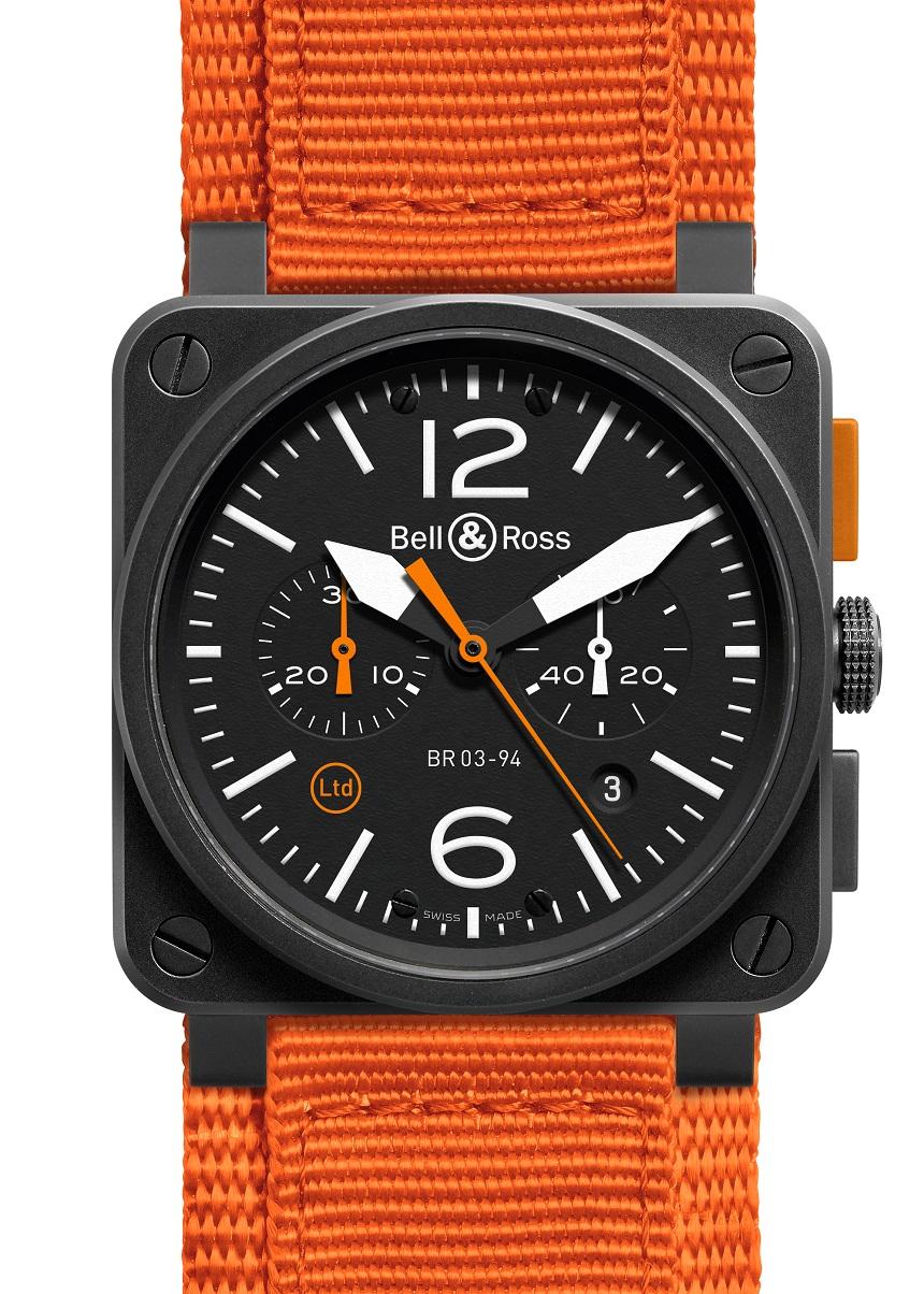 Front of BR03-94 Carbon Orange
