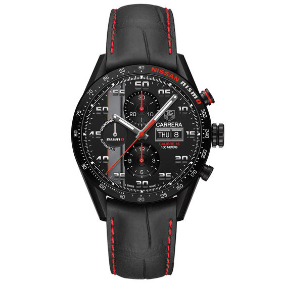 Front of TAG Heuer Carrera NISMO Calibre 16