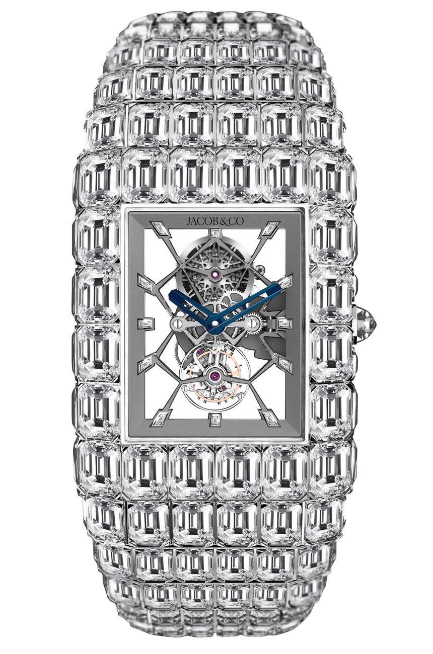 Front of Jacob & Co. Billionaire diamonds watch