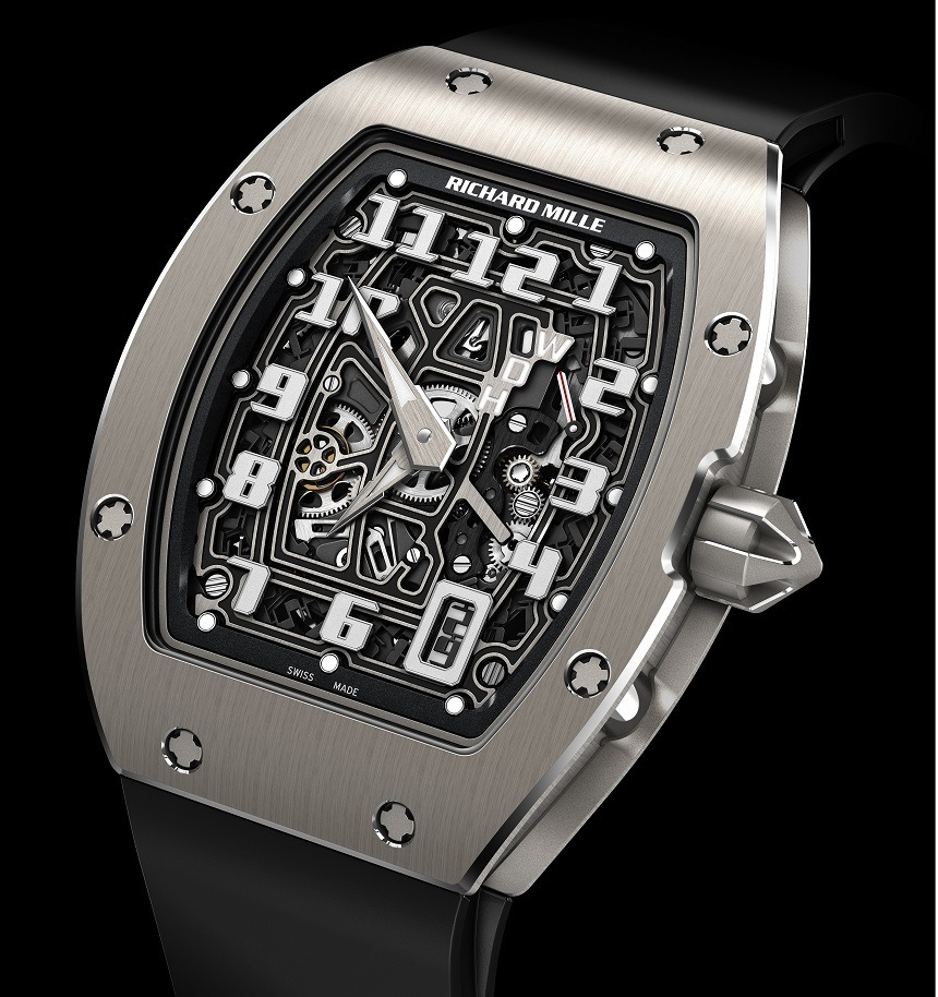 Front of Richard Mille RM67-01 Automatic extra flat