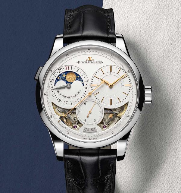 Front of Jaeger-LeCoultre Duomètre Quantième Lunaire Watch
