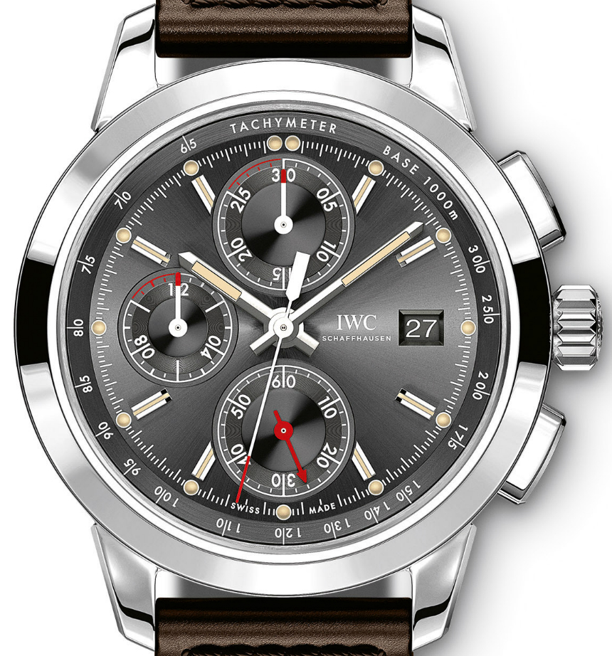 "IWC's Chronograph Edition ""Rudolf Caracciola"" watch"