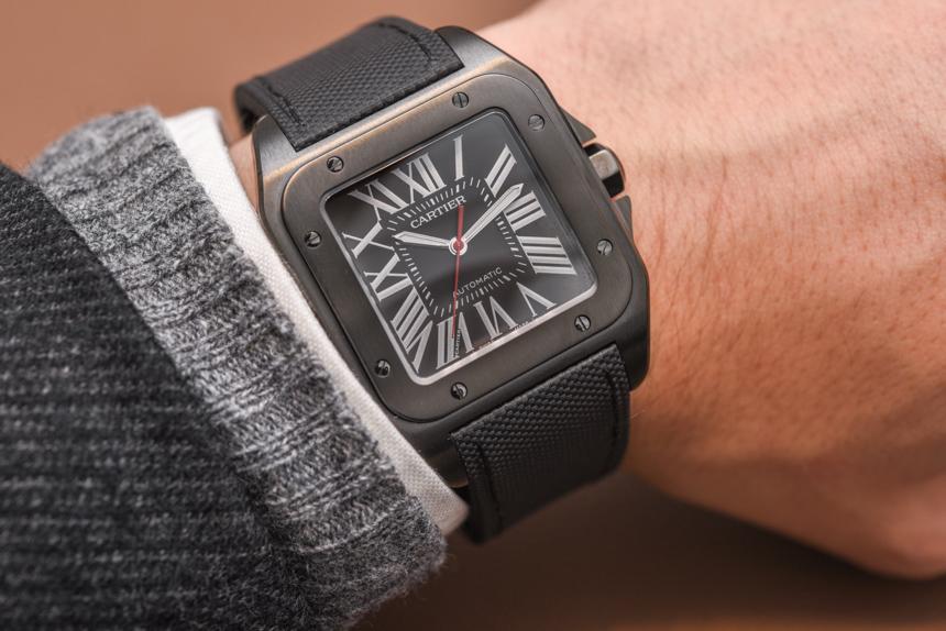 Cartier-Santos-100-Carbon-WSSA0006