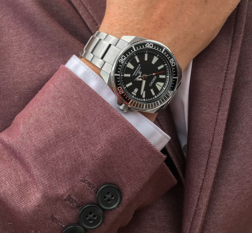 Seiko Prospex Samurai SRPB51 Watch Review Wrist Time Reviews