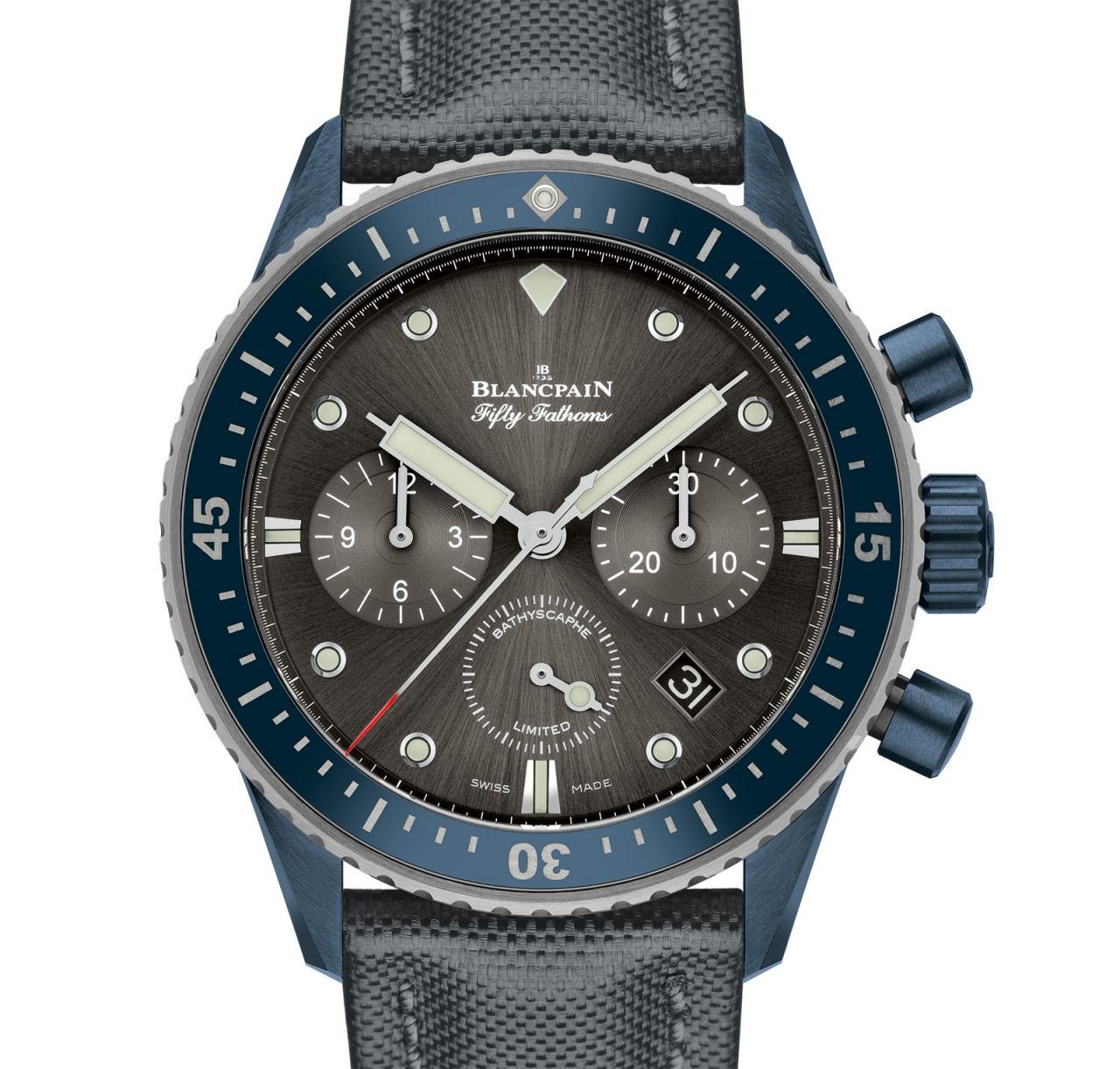 Blancpain Bathyscaphe Flyback Chronograph BOC II 2
