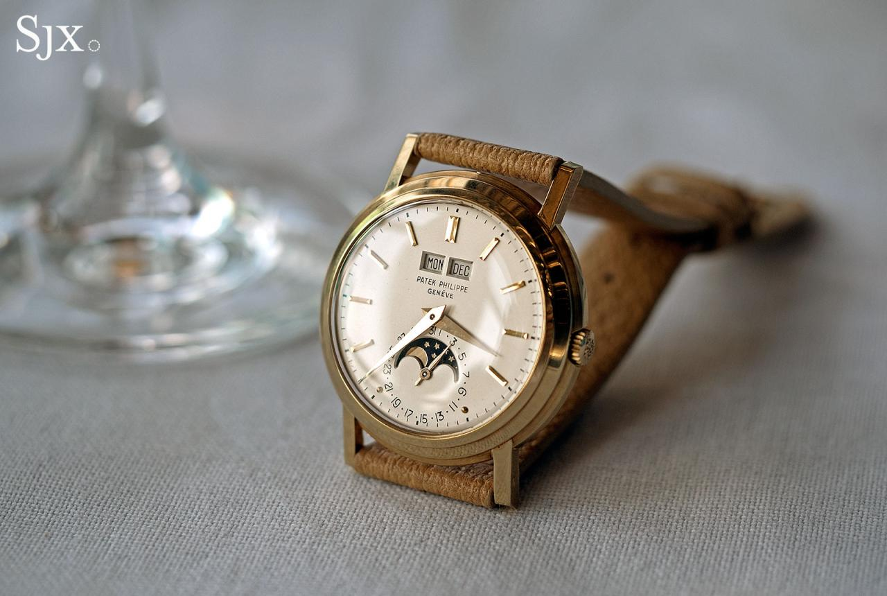 Patek Philippe 3449 perpetual calendar 1
